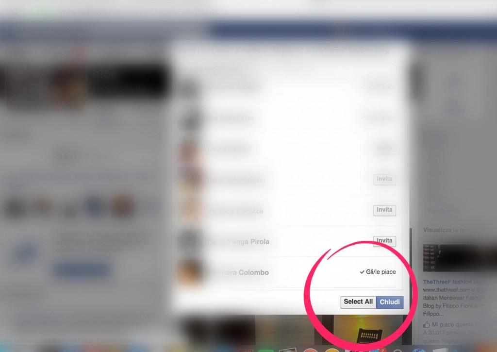 Come invitare tutti gli amici di Facebook a mettere Mi Piace
