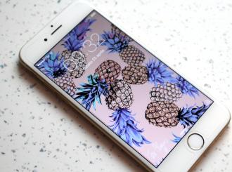Wallpaper-per-iphone-6-ananas