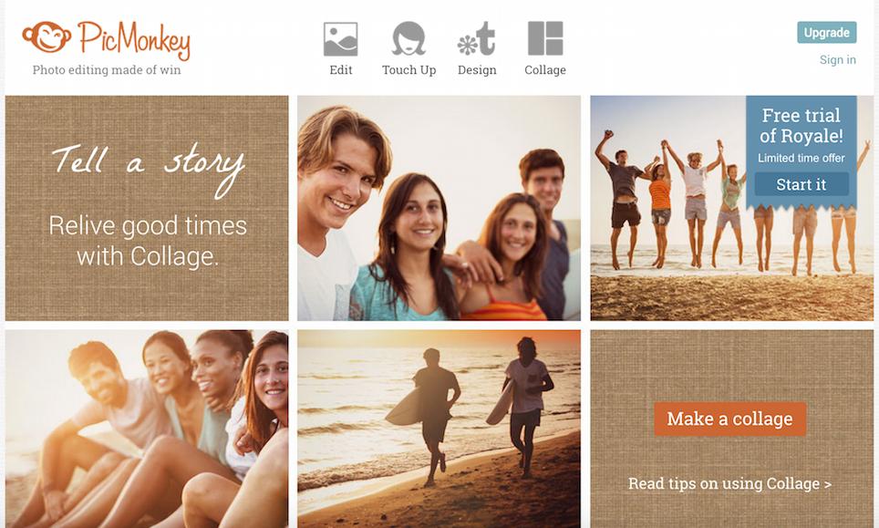 PicMonkey grafica e fotoritocco per principianti