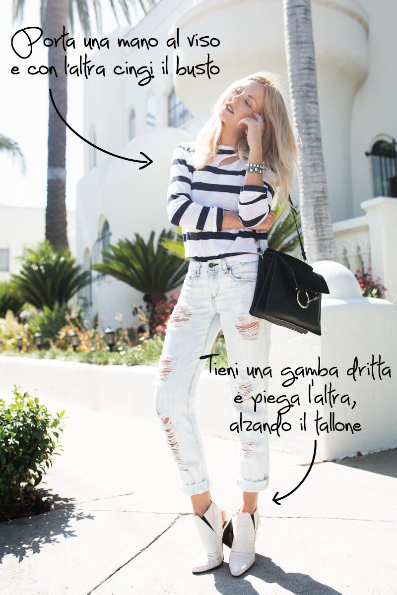 Come posare come una fashion blogger professionista