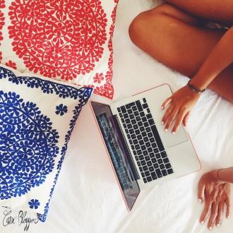 Non c'è niente di pigro nel lavorare dal tuo letto