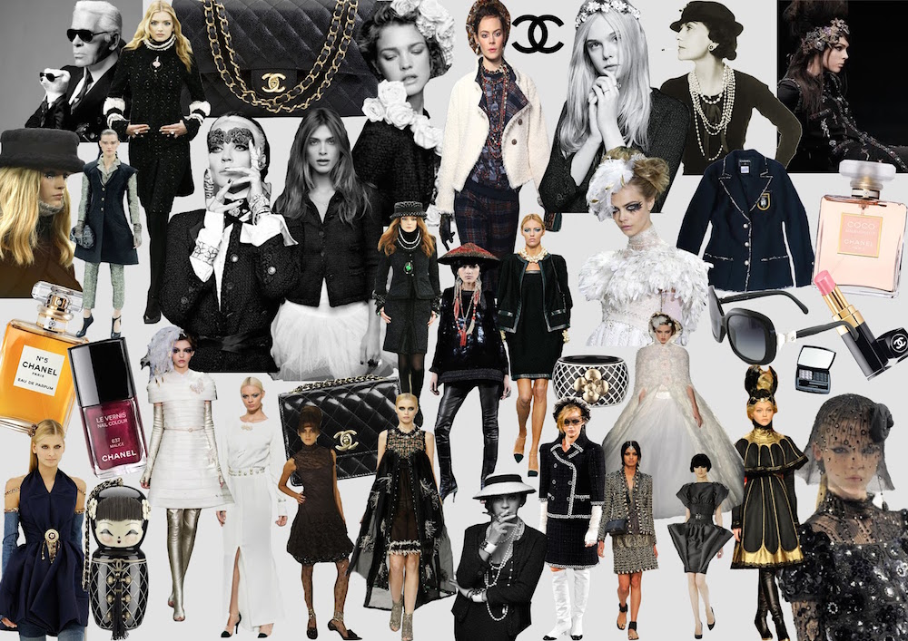 chanel mood board