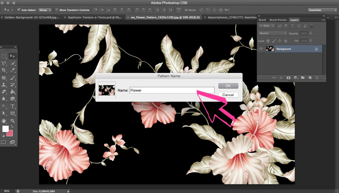 Come-Applicare-una-Texture-a-un-Testo-Photoshop-Guida