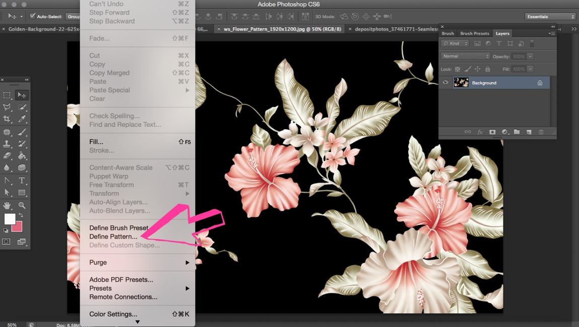 Photoshop: Come Applicare una Texture a un Testo