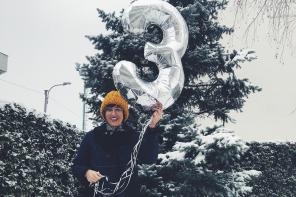 Buon Compleanno Cara Blogger: 3 anni!